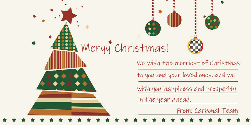 Merry Christmas_Best wishes from Carbonal Team